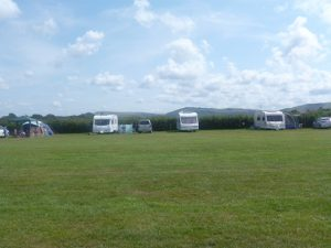 caravans on site